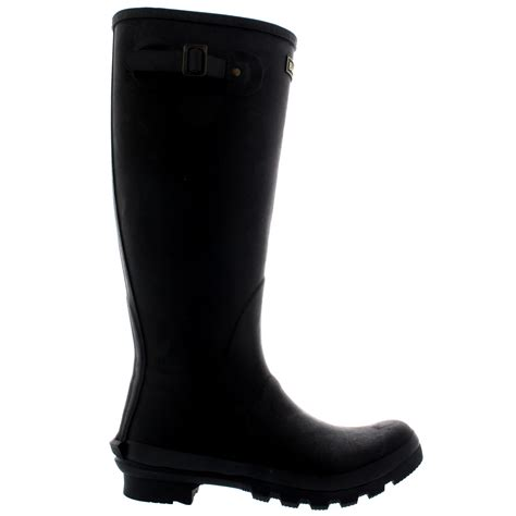 Mens Barbour Bede Winter Mid Calf Snow Waterproof Rain Wellington Boots