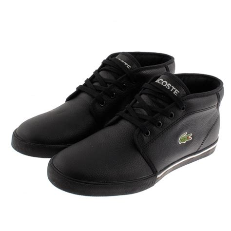 Mens Black Ampthill Trainers