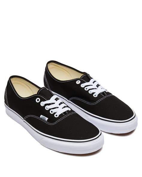 Mens Black Vans Sneakers