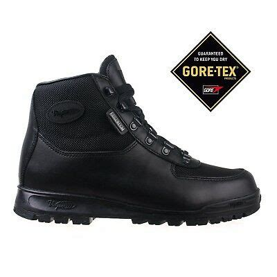 Mens Boots Gore-tex Black Skywalk Leather 7052 Size 10.5