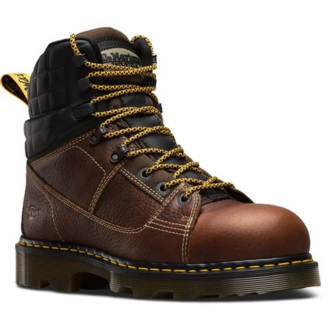 Mens Camber EW Safety Toe 8 Tie Boot