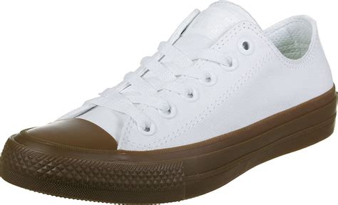 Mens Chuck II Gum Low Top Canvas Trainers
