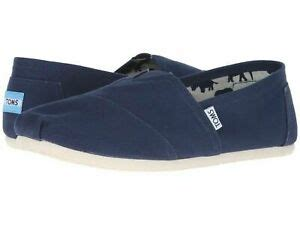 Mens Classics Navy Canvas 001001A07-NVY