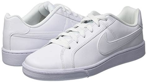 Mens Court Royal White Leather Trainers 11.5 US