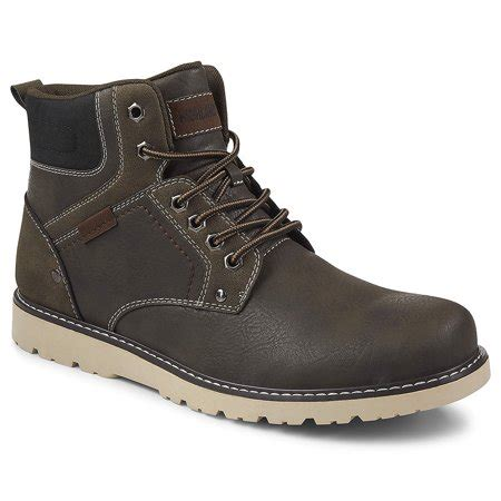 Mens Denver Lace up Hiking Boot Shoes