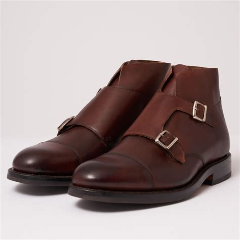 Mens Double Monk Boot
