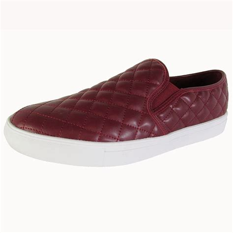 Mens Element Quilted Slip On Loafer Shoes