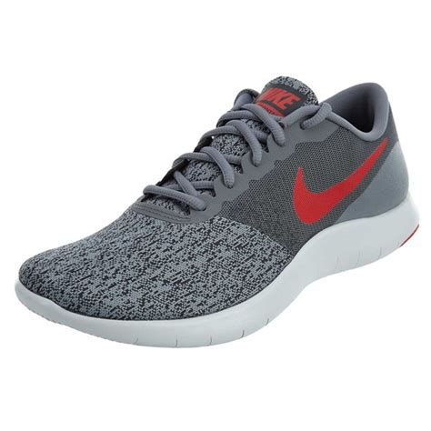 Mens Flex Contact Running Shoe Cool Grey/University Red-Anthracite 11