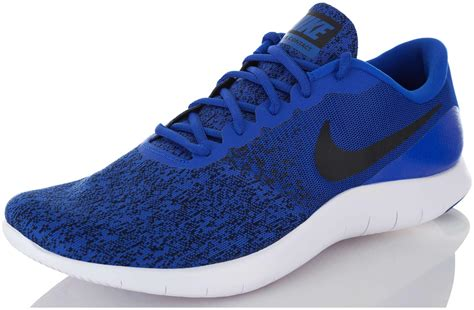 Mens Flex Contact Running Shoe, Running, Blue/ White, 11 US M