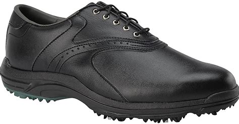 Mens GreenJoys Golf Shoes - Size: 8.5, Black/black