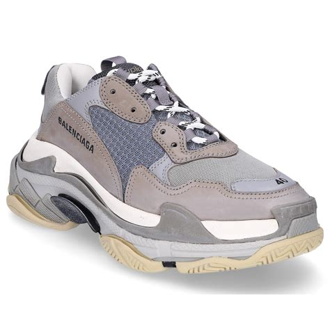 Mens Grey Balenciaga Sneakers