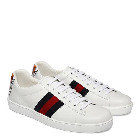 Mens Gucci White Sneakers