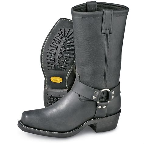 Mens Harness Boot