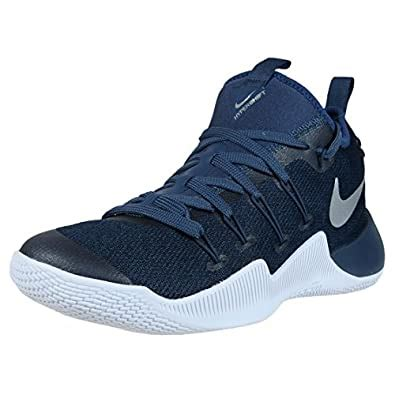 Mens Hypershift Basketball Shoes Squadron Blue/Metallic Silver