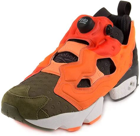 Mens Insta Pump Fury Asymmetrical Canopy/Peach-Red Synthetic