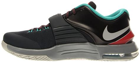 Mens KD VII Thunderbolt Basketball Shoes-Classic Charcoal/Dove gray-12
