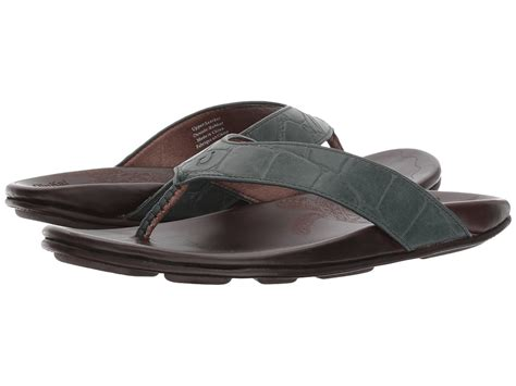Mens Kohana Kai Sandal (8 - Moss/Dark Wood)