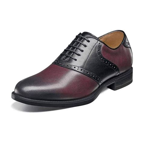 Mens Midtown Plain Toe Saddle Oxford