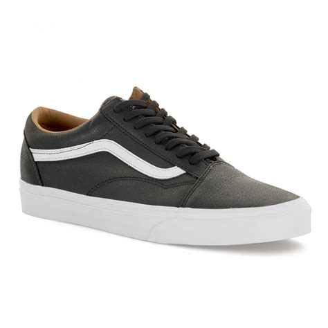 Mens Old Skool Leather Trainers