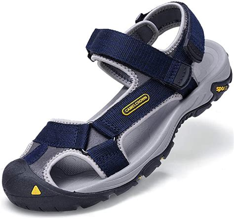 Mens Outdoor Waterproof Adjustable Sport Sandals