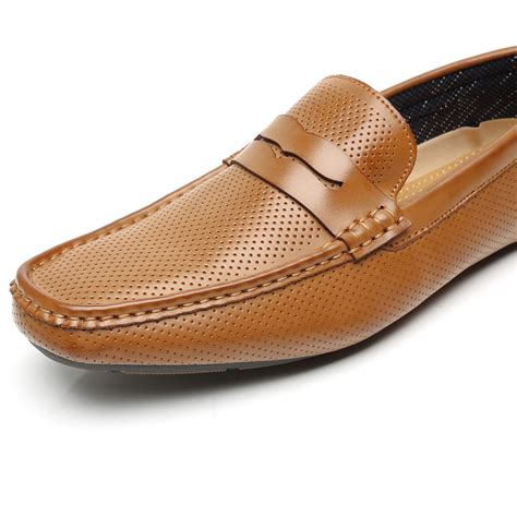 Mens Penny Loafers Driving Moccasins Slip On Classic Casual Boat Dress Shoes by