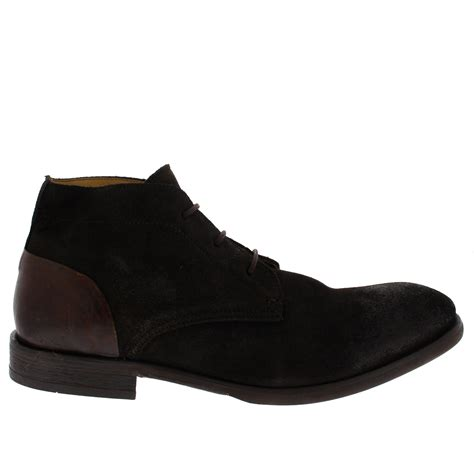 Mens Ryecroft Smart Work Formal Lace up Suede Chukka Boots