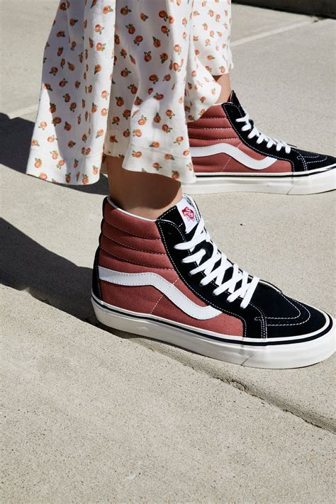 Mens Sk8-Hi Zip DX Hight Top Lace up Fashion Sneakers