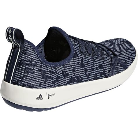 Mens Terrex Climacool parley Boat Shoe (12 - Trace Blue/Raw