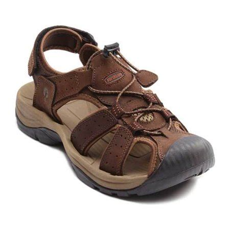 Mens Trinidad Leather Sport Closed Toe Sandal