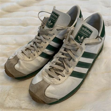 Mens Vintage Adidas Country Sneakers
