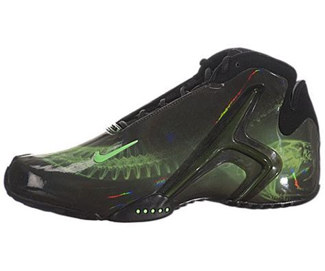 Mens Zoom Hyperflight PRM Basketball Shoes-Black/Poison Green-10