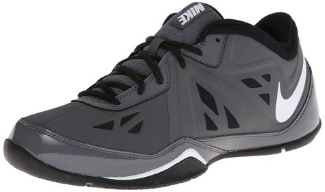 Mens air Behold Low NBK Leather Low Top Lace up Basketball, Black, Size 8.5