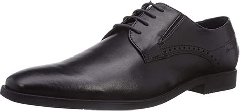 Mens-Lace-Up Schwarz 650493-1