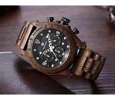 Best Mens wooden watch aspx viewer