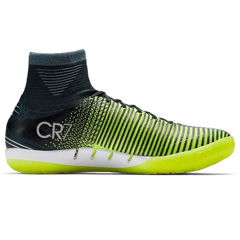 MercurialX Proximo II CR7 IC 852538-376 Seaweed/Volt Indoor Soccer Shoes