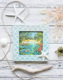 Mermaid Picture Frame Diy