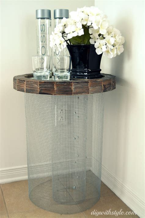 Mesh Top Table Diy