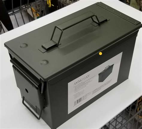 Metal Ammunition Box