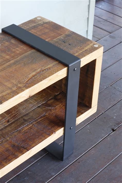 Metal And Wood Furniture Diy