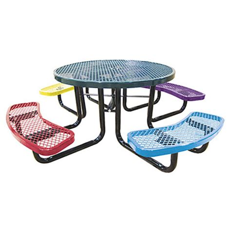 Metal Childrens Picnic Table