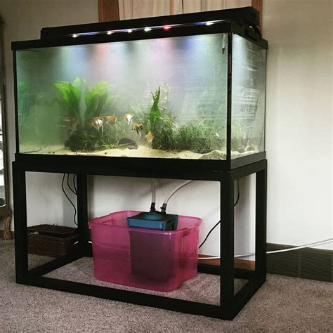 Metal Double Fish Tank Stands
