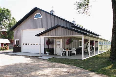 Metal Garage Home Plans