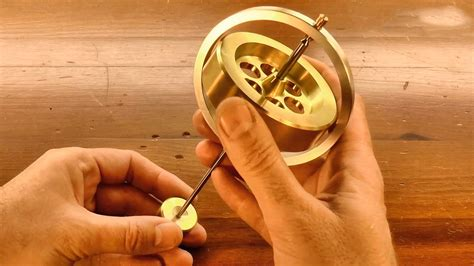 Metal Lathe Projects Plans Gyroscope