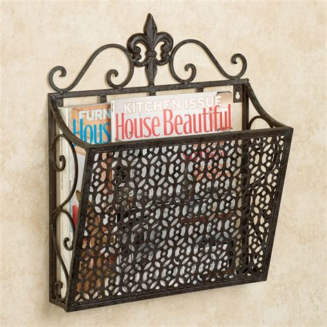 Metal Magazine Wall Racks
