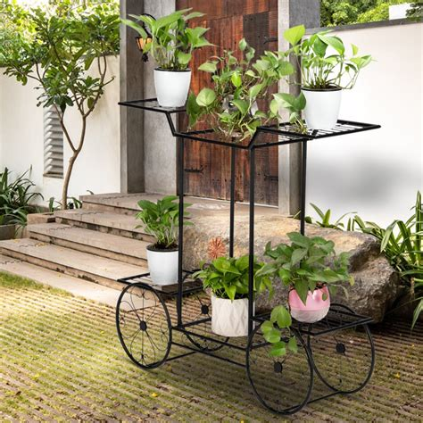 Metal Plant Hangers Outdoor