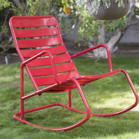 Metal Rocking Chair Plans