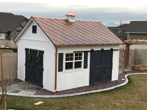 Metal Roof Firewood Shelter Pictures