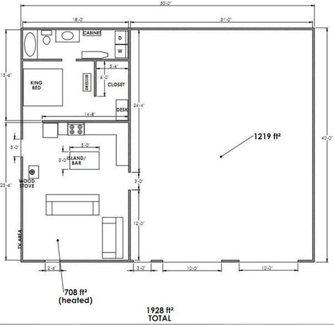 Metal Shop Apartment Floor Plans