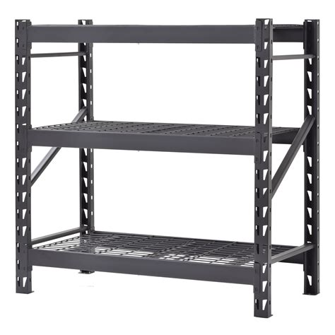 Metal Storage Shelves For Garage Home Depot