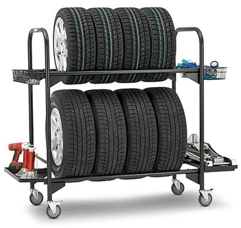 Metal Tire Rack Plans